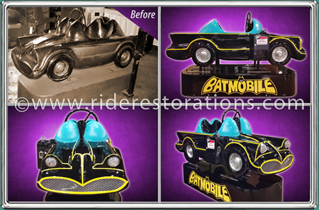 Batman Coin Operated Ride