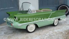 Restored Autopede Pedal Car