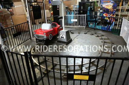 Indoor Amusement Roller Coaster Kiddie Ride Restoration