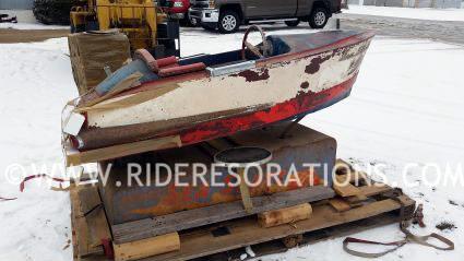 Coin Op Kiddie Ride Sea Skate Boat