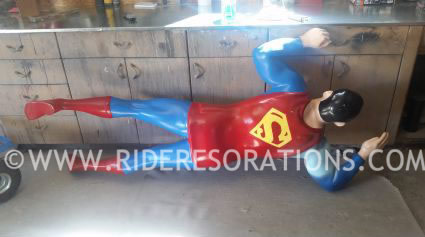 Superman Coin Op Kiddie Ride