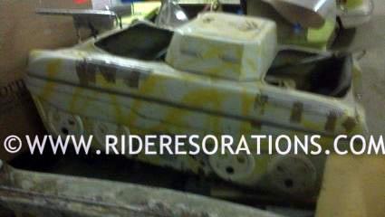 Autopede Carnival Ride Tank