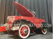 garton pedal car restoration