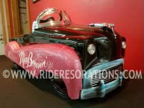 Custom low rider pedal car for sale
