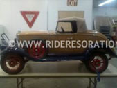 Peirce Arrow pedal car restoration